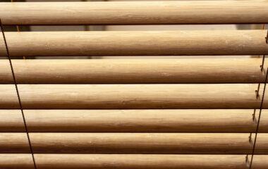 Wooden jalousie - interior